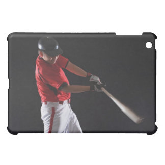 Baseball player about to hit the ball cover for the iPad mini