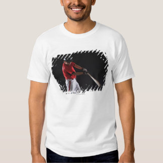Baseball player about to hit the ball t-shirts