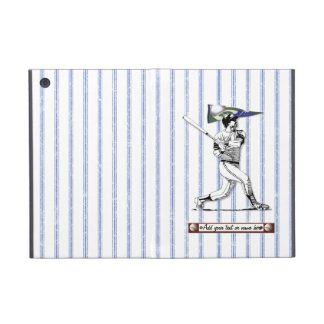 Baseball Player and Pennant iPad Mini Cover