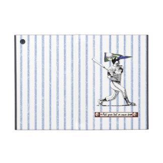 Baseball Player and Pennant iPad Mini Cover