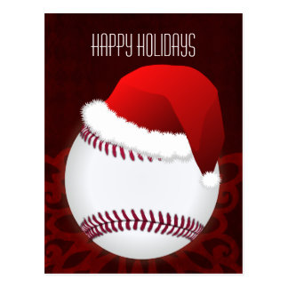 baseball player Christmas Cards
