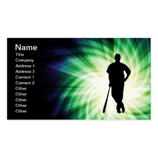 Baseball Player; Cool Pack Of Standard Business Cards