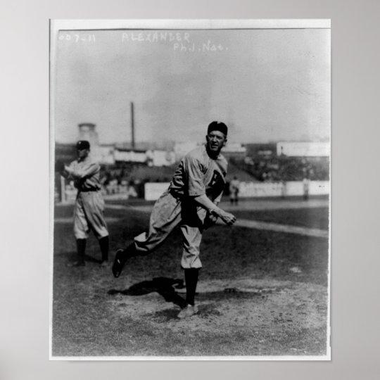 Baseball Player - Grover Cleveland Alexander Poster