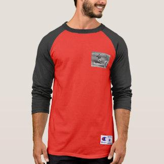 Baseball Player Initial Q Rhyme Vintage Pitcher T-Shirt