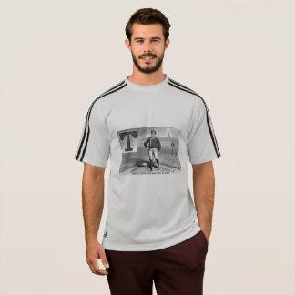 Baseball Player Initial T Rhyme Vintage Third Base T-Shirt