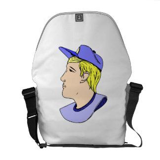 Baseball Player Courier Bag