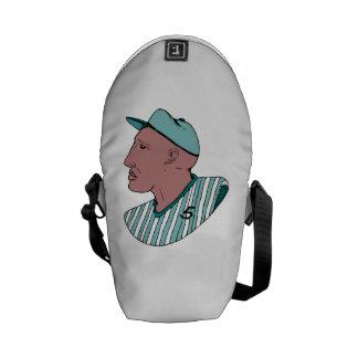 Baseball Player Messenger Bags