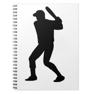 Baseball Player Notebook
