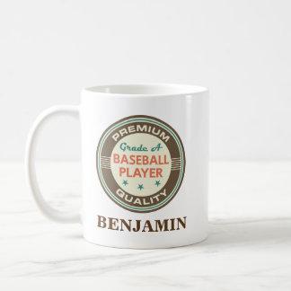 Baseball Player Personalized Office Mug Gift