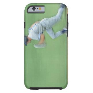 Baseball Player Running to Base Tough iPhone 6 Case