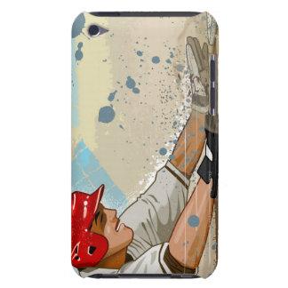 Baseball Player Sliding iPod Touch Case