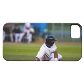 Baseball player sliding onto a base case for the iPhone 5