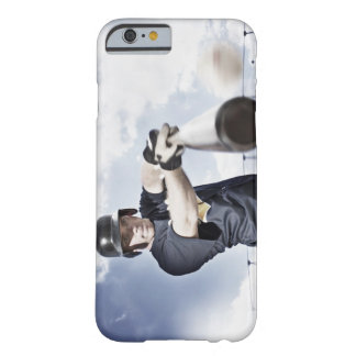Baseball player swinging baseball bat 2 barely there iPhone 6 case