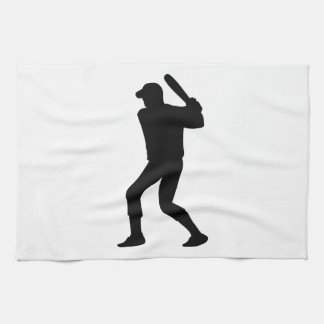Baseball Player Tea Towel