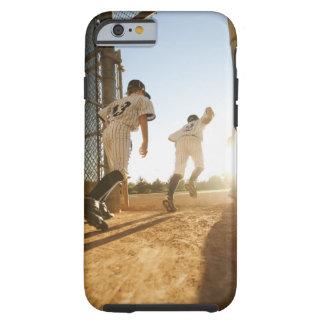 Baseball players (10-11) entering baseball tough iPhone 6 case