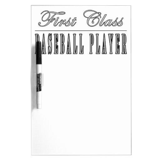 Baseball Players : First Class Baseball Player Dry-Erase Board