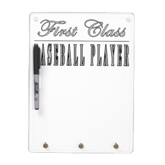 Baseball Players First Class Baseball Player Dry-Erase Boards