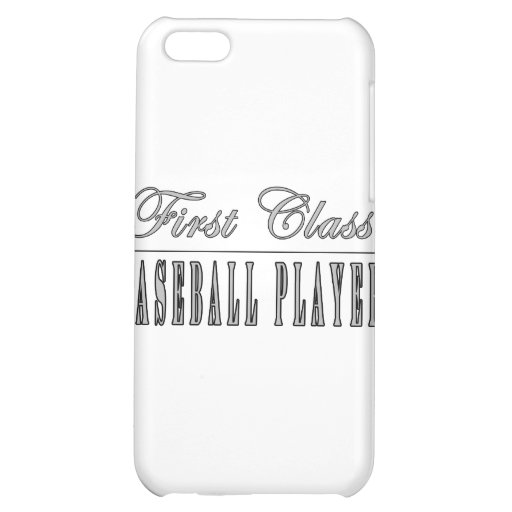 Baseball Players : First Class Baseball Player Case For iPhone 5C