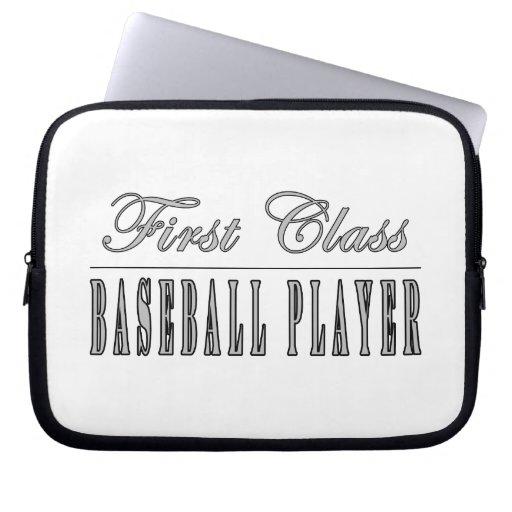 Baseball Players : First Class Baseball Player Laptop Sleeve