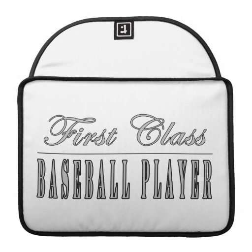 Baseball Players : First Class Baseball Player Sleeves For MacBook Pro