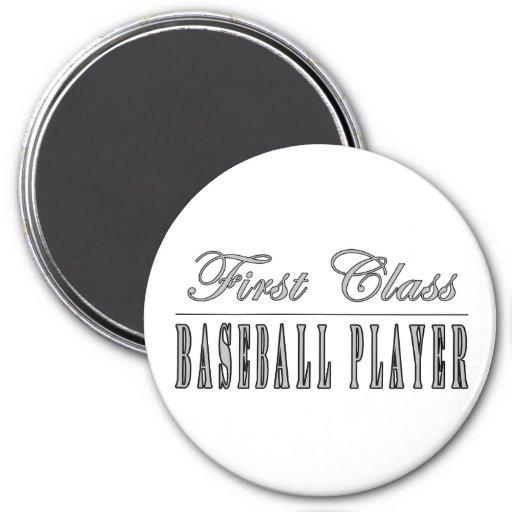 Baseball Players : First Class Baseball Player Magnet