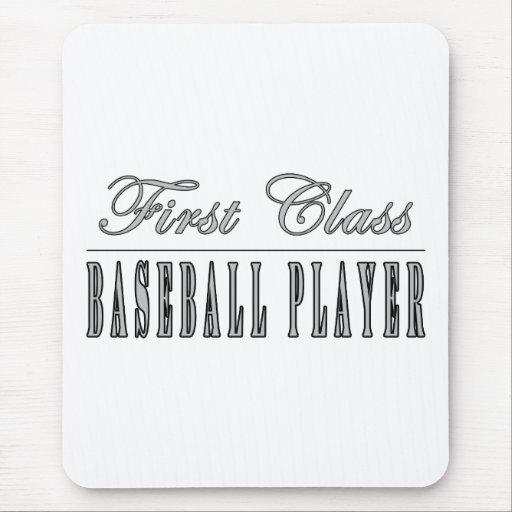 Baseball Players : First Class Baseball Player Mousepad