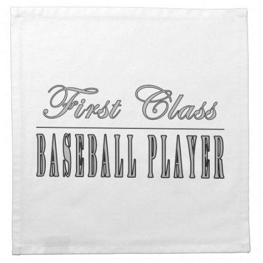 Baseball Players : First Class Baseball Player Napkin