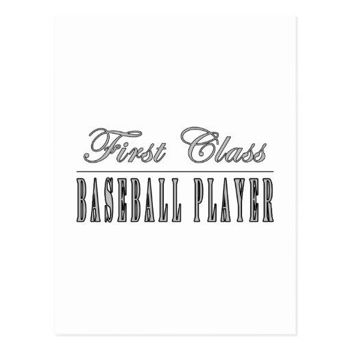 Baseball Players : First Class Baseball Player Post Card