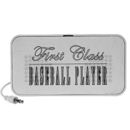 Baseball Players : First Class Baseball Player Notebook Speaker