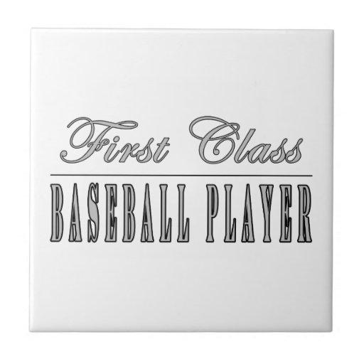 Baseball Players : First Class Baseball Player Tile
