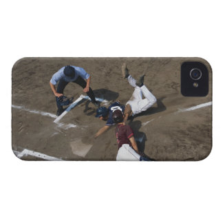 Baseball Players Sliding into Base Case-Mate iPhone 4 Cases