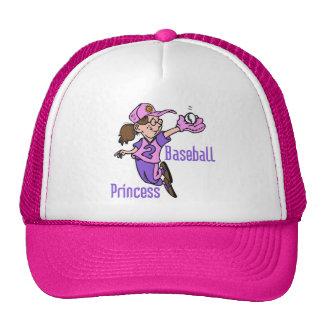 Baseball Princess T-shirts and Gifts Cap