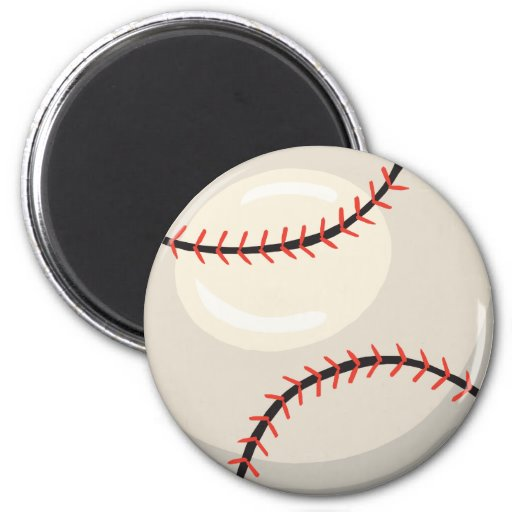 Baseball Products Refrigerator Magnet