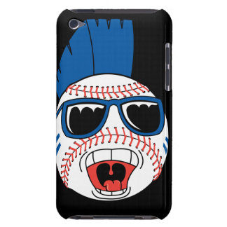 baseball punk vector design graphic barely there iPod cover