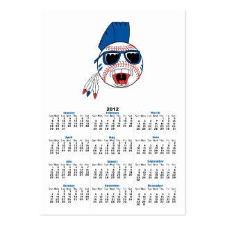 baseball punk vector design graphic pack of chubby business cards