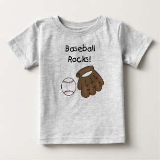 Baseball Rocks Baby T-Shirt