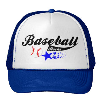 Baseball Rocks Hat