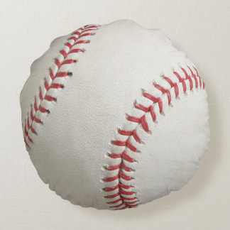 Baseball Round Cushion
