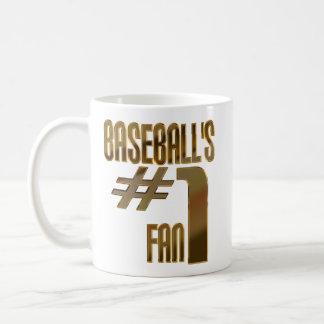 Baseball s Number One Fan Coffee Mugs