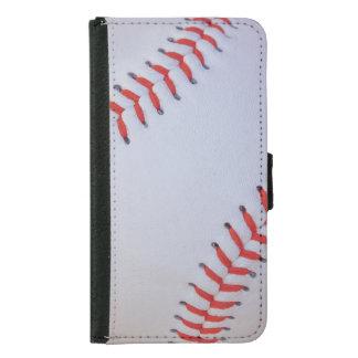 Baseball Samsung S5 wallet