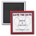 Baseball Save the Date magnets