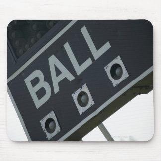 Baseball scoreboard 2 mouse mat