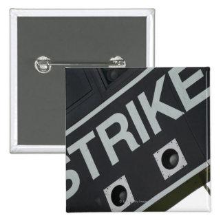 Baseball scoreboard 3 15 cm square badge