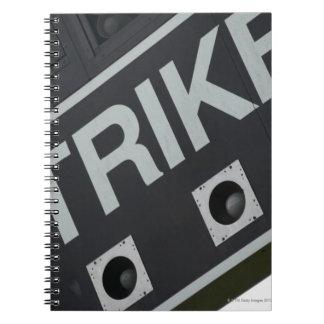 Baseball scoreboard 3 notebooks