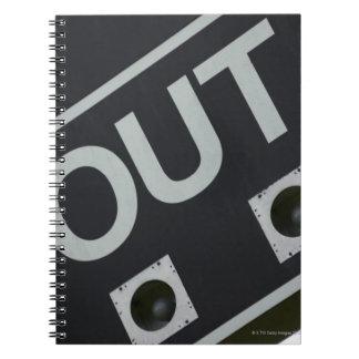 Baseball scoreboard notebooks