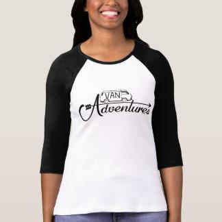 Baseball shirt 3/4 Woman Van Adventures