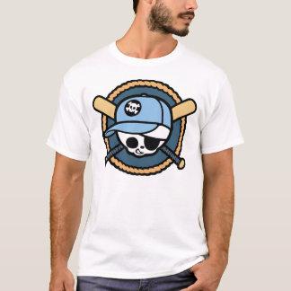 Baseball Skull & Crossbats -boys T-Shirt