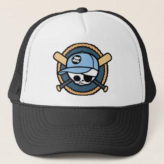 Baseball Skull & Crossbats -boys Trucker Hat