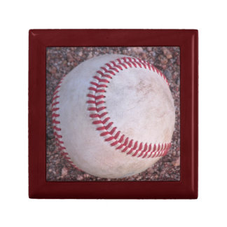 Baseball Small Square Gift Box
