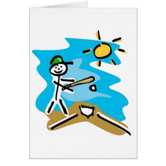 baseball & softball card